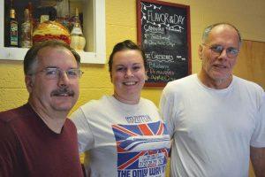 Bob, Jessica, & Robert Mathews