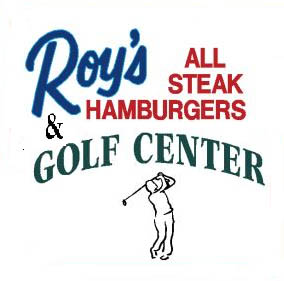 Roy's All Steak Hamburger Logo